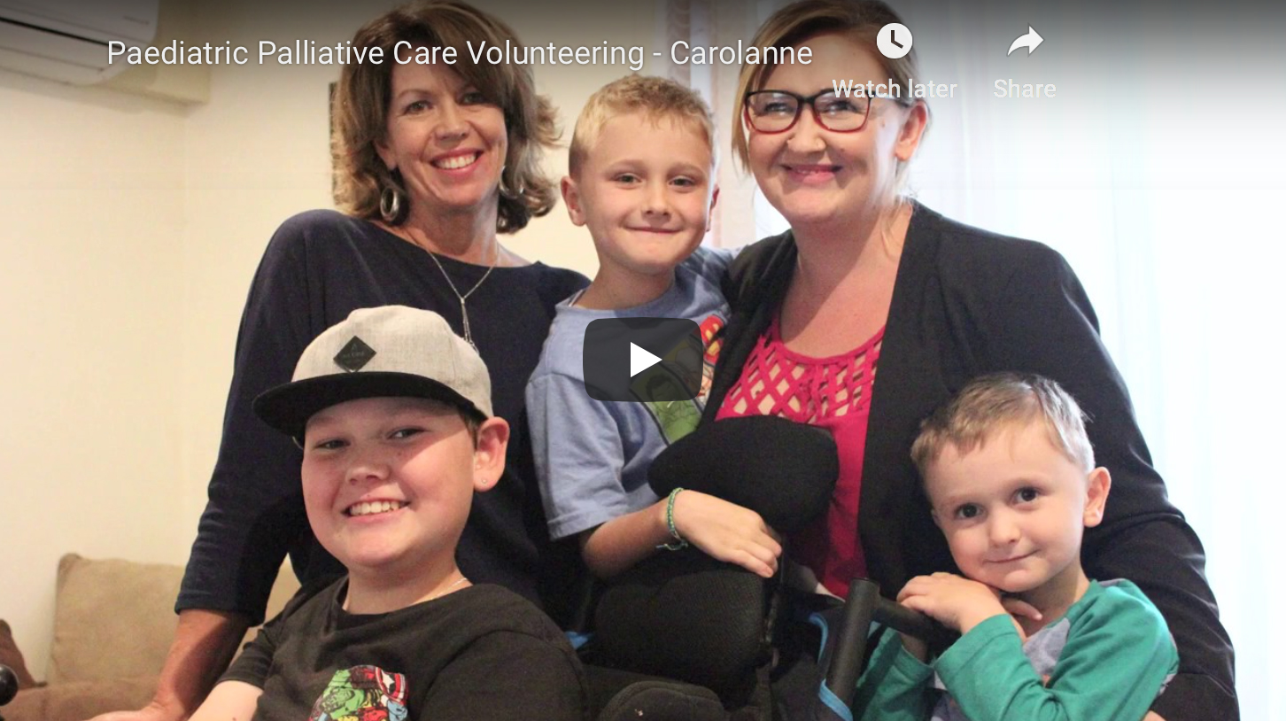 Paediatric Palliative Care Volunteering